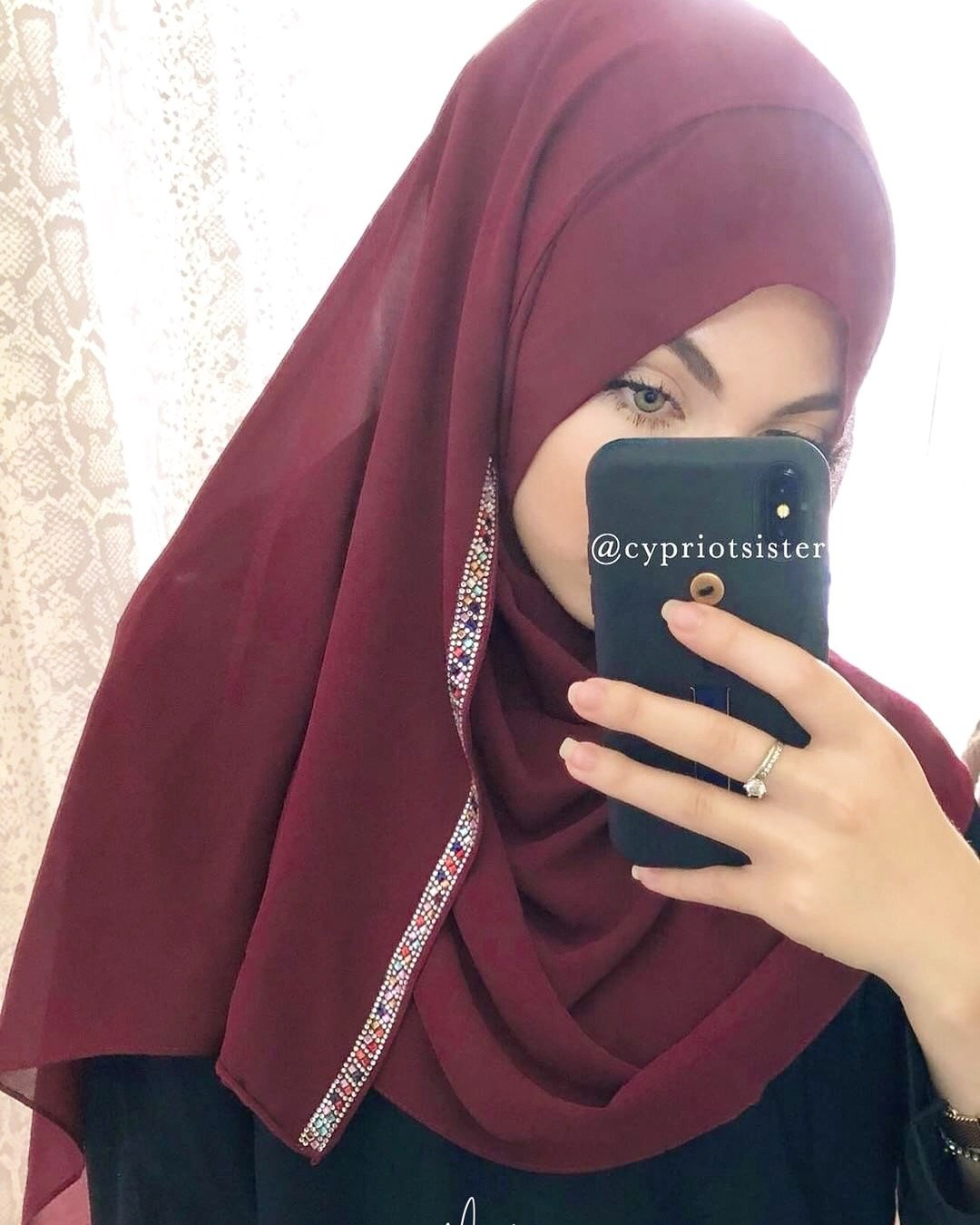 NEW HIJAB INSTANT DIAMOND PINLESS