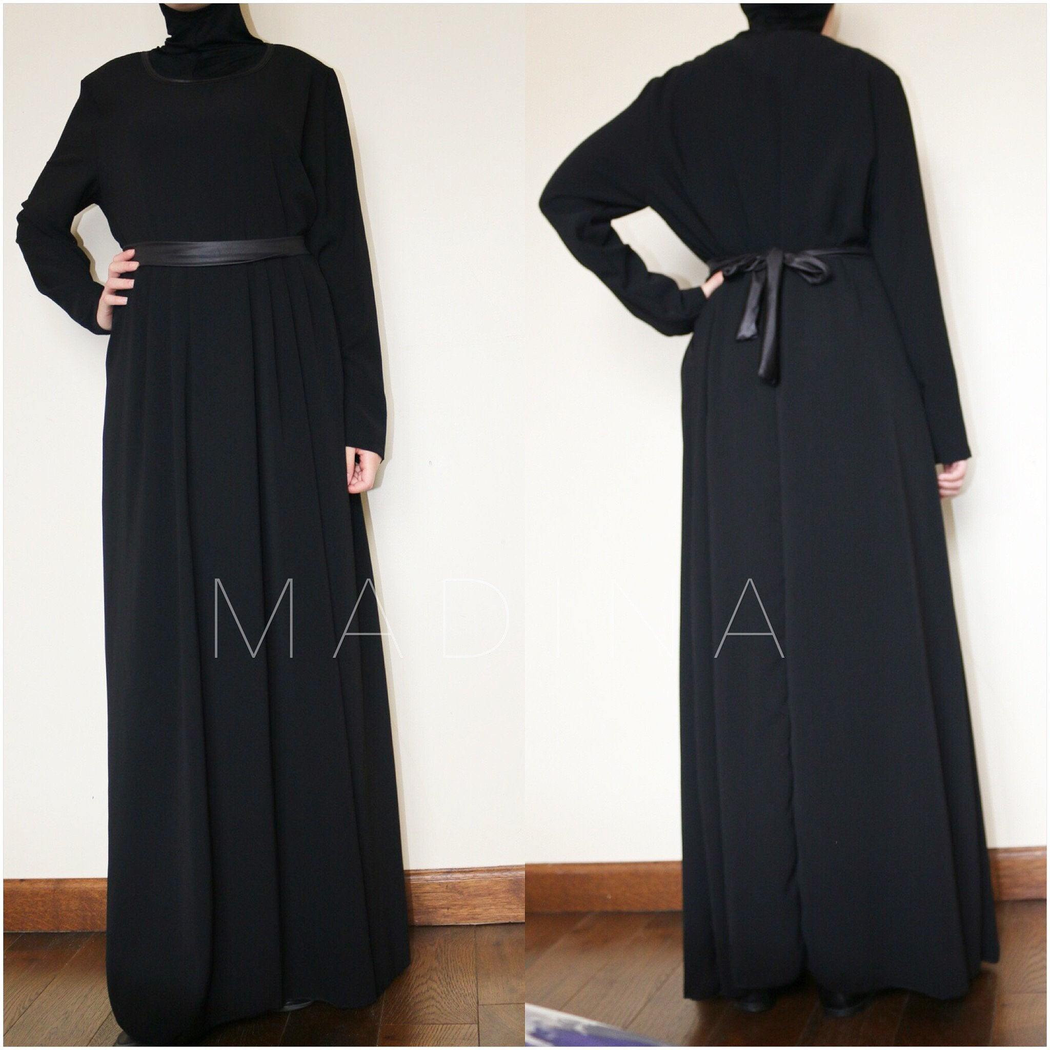 MAXI DRESS LEATHER KNIT LEYLA  (all colors )