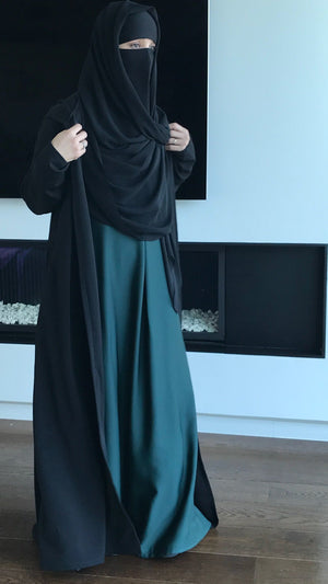 MAXI KNIT HOODED CARDIGAN EMY