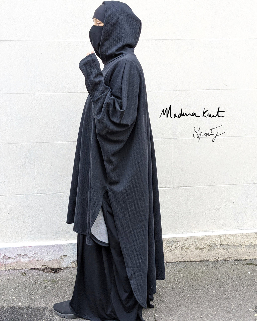 New ! MAXI URBAN TOP MOON Black