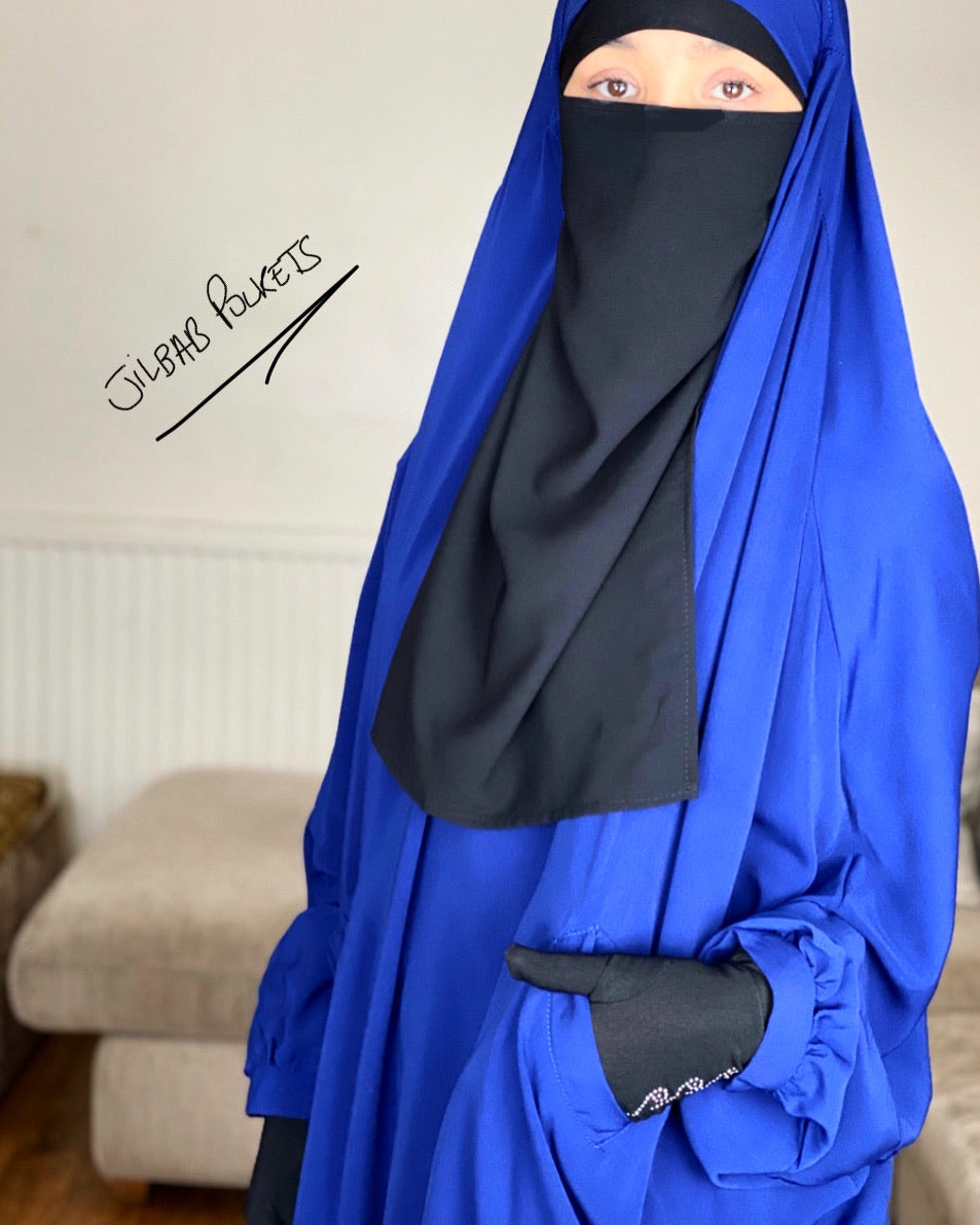 New ! JILBAB JUBA POCKETS SET SKIRT/SERWAL (all colours )