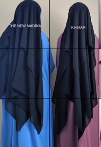NEW THE MADINA KHIMARY (top Hijab /cape )