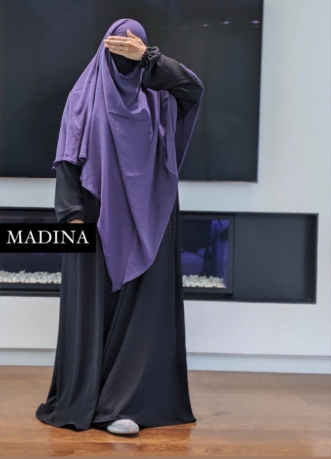 THE ABAYA SIMPLICITY Black
