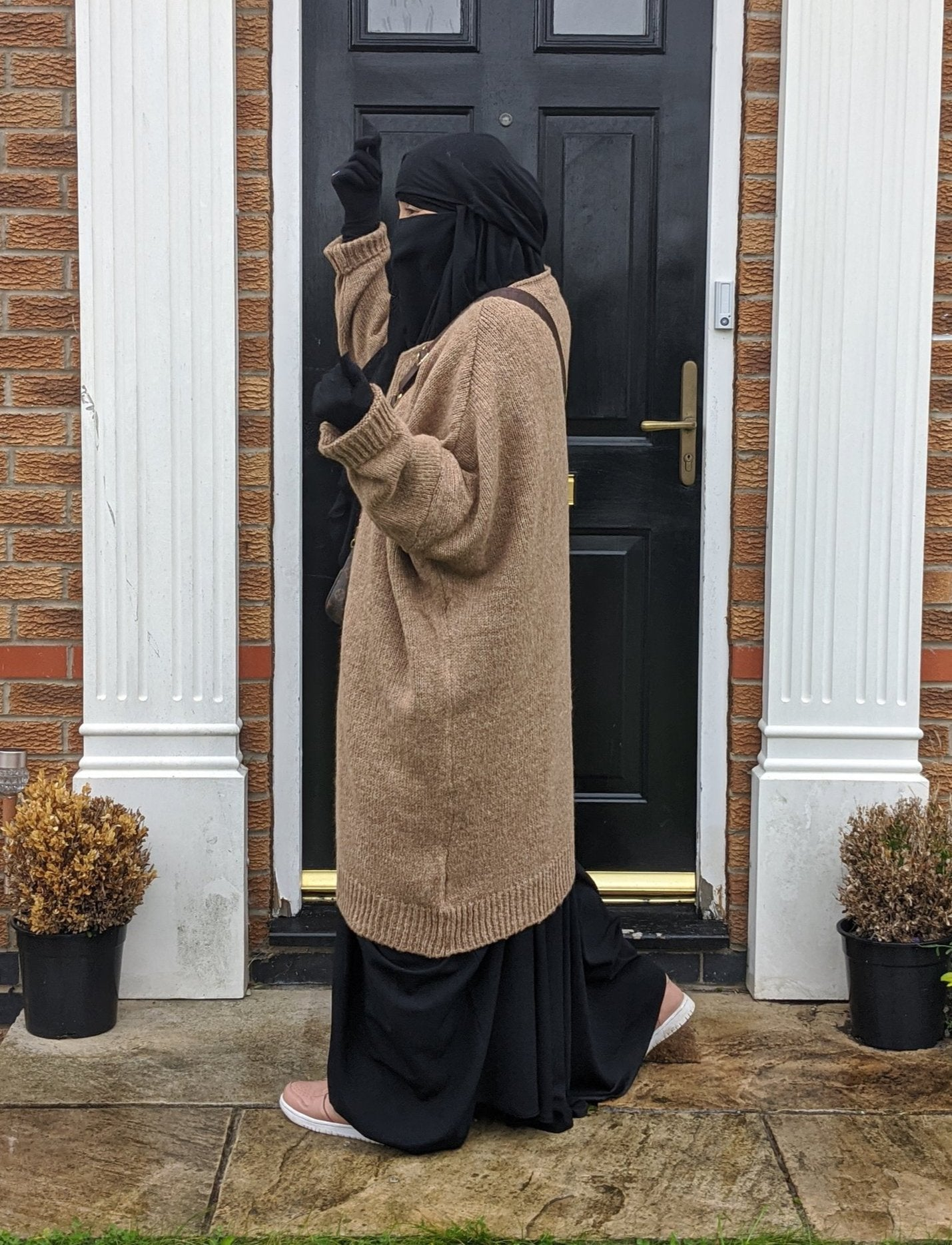 NEW MAXI SWEAT WOOLY CAMEL Knit