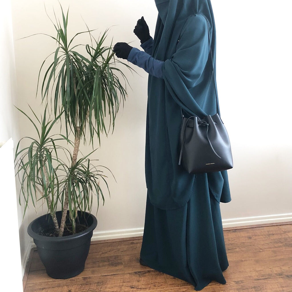 JILBAB URBANA SET 2P SKIRT All Teal