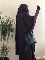 Jilbab Urbana 2 Pieces Plum / Top