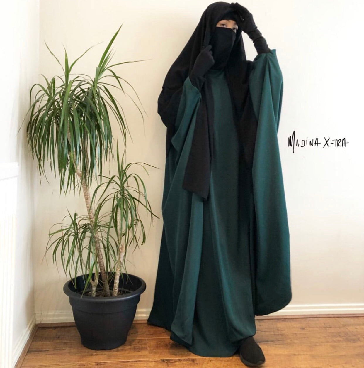 THE ABAYA NOOR X-TRA DELUXE Green