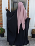 THE FARASHA CO ABAYA DELUXE Black