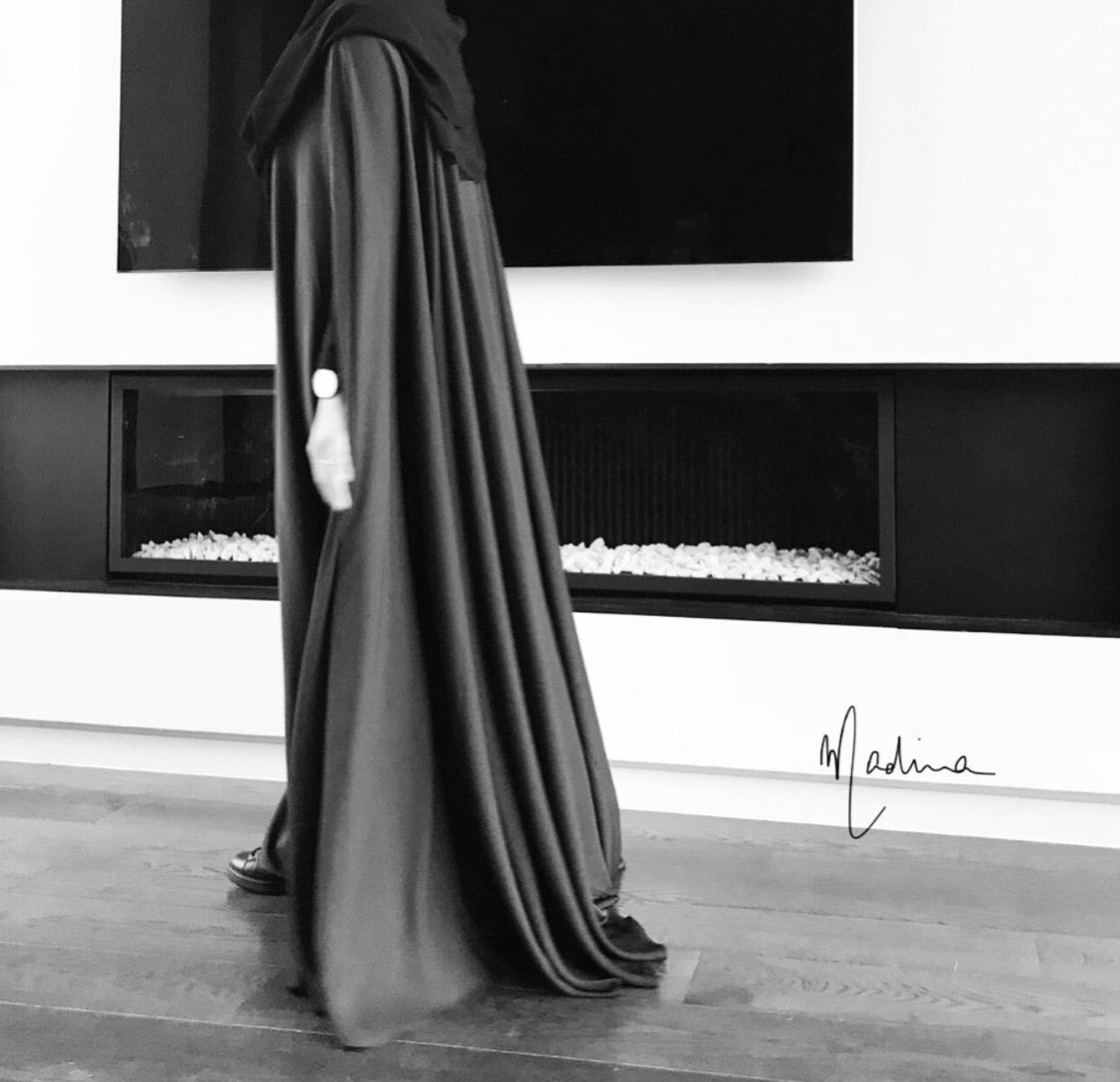 NEW ABAYA-CAPE MADINA QUEEN (all colours )