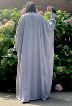ABAYA BUTTERFLY AMANA BASIC Soft Grey