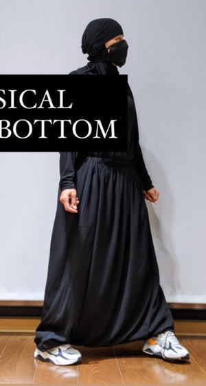 SERWAL BOTTOM BASIC BLACK
