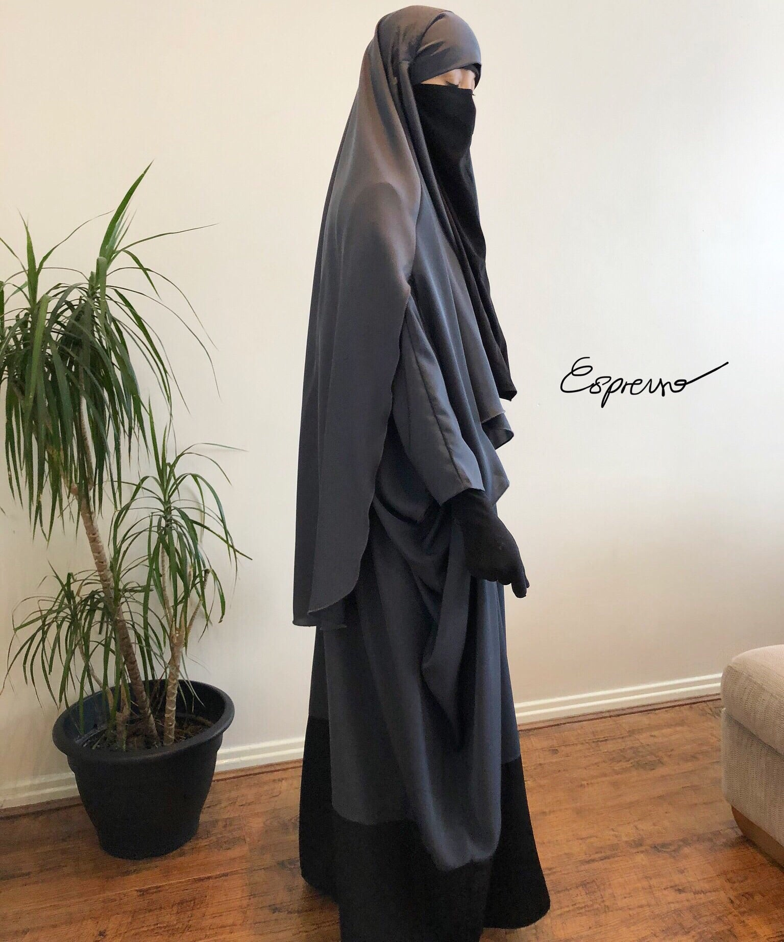 NEW ! ESPRESSO FULL SET ABAYA + CAPE