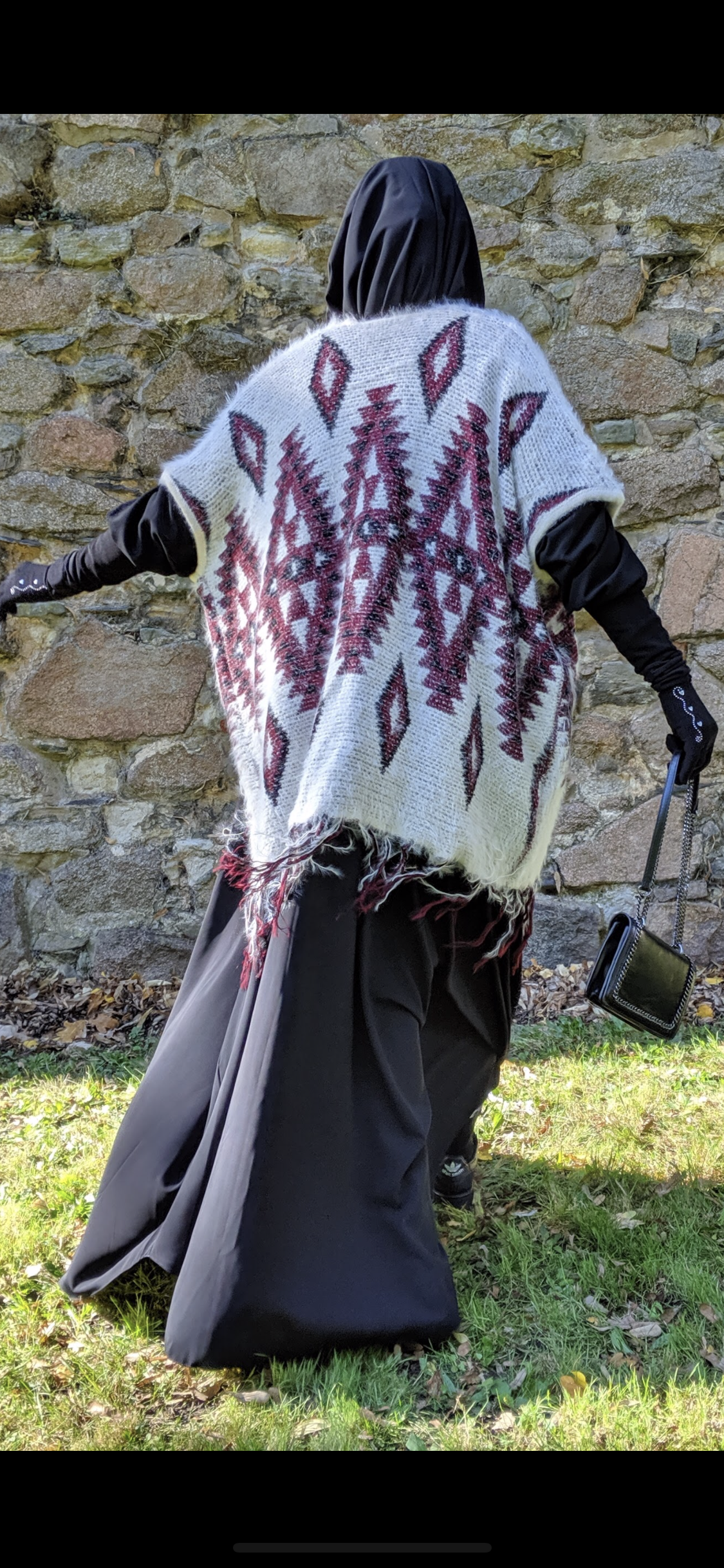 NEW PONCHO MEXICANA KNIT (all colours )
