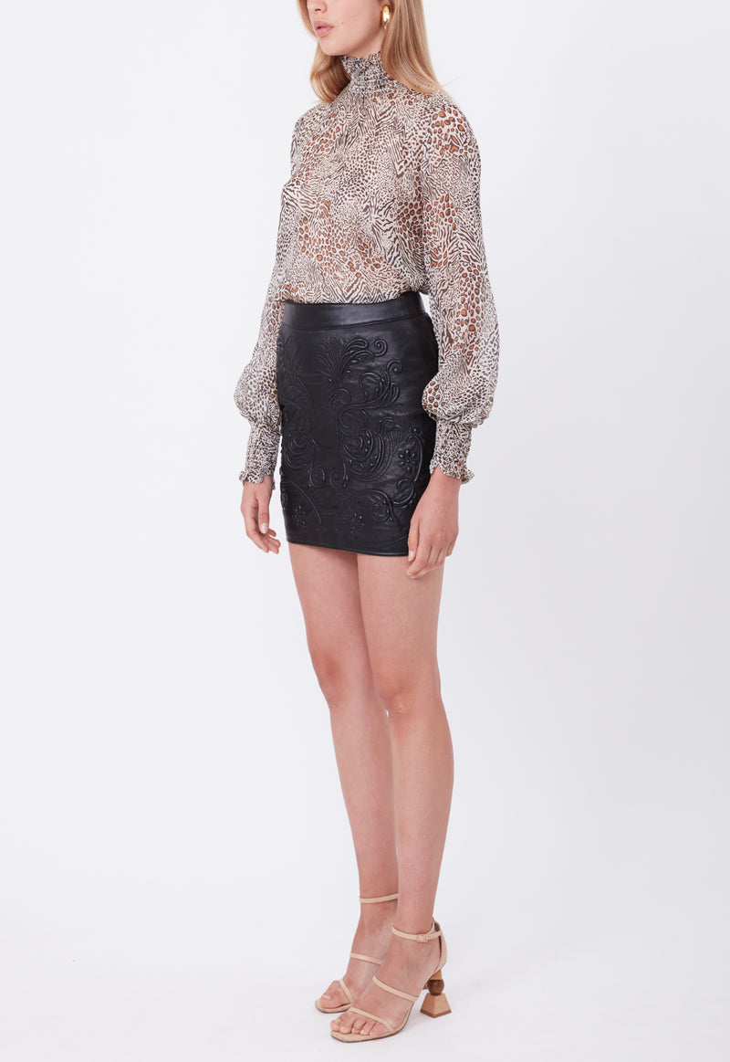 LOVE LACE BLOUSE ANIMAL