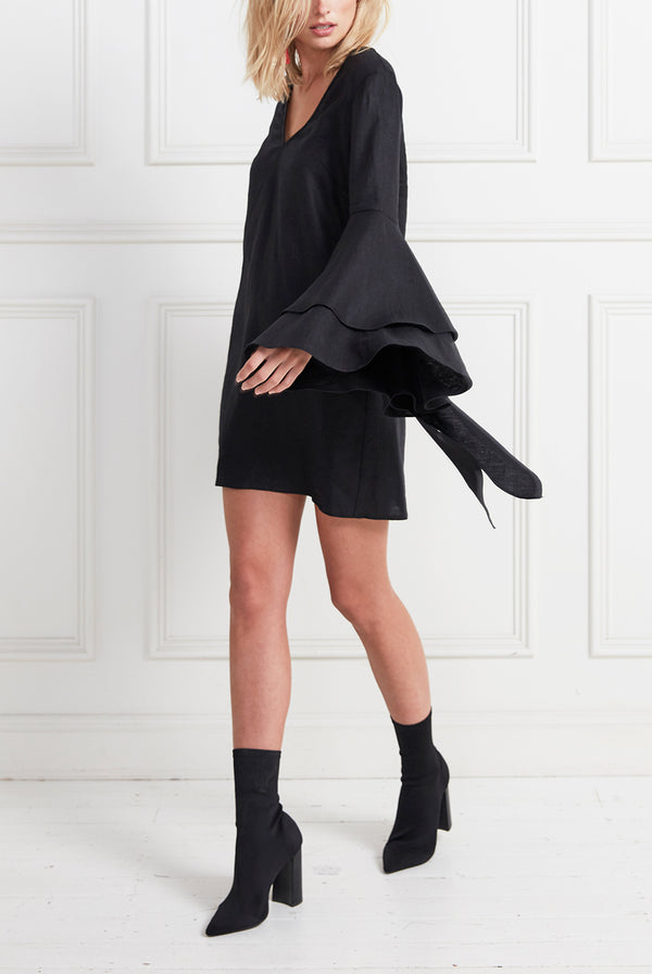 CASUAL SUNDAY DRESS BLACK