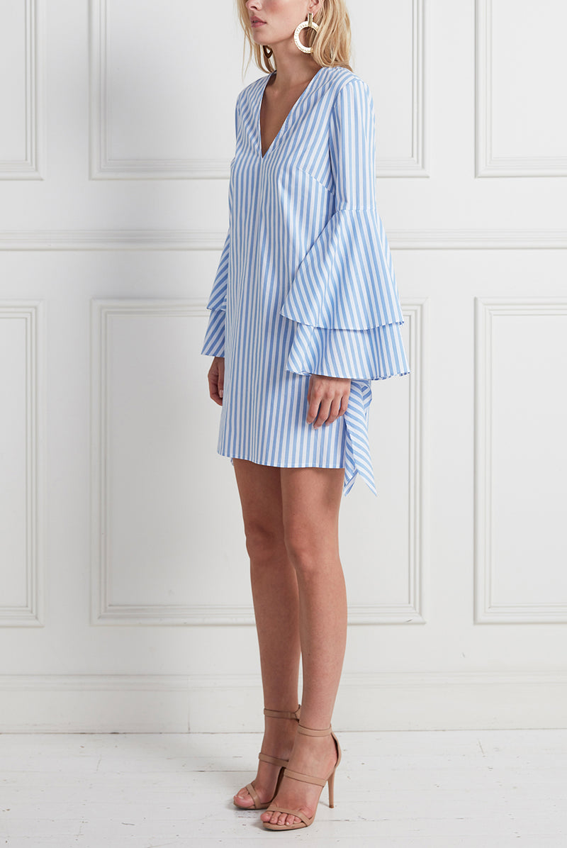 CASUAL SUNDAY DRESS STRIPE
