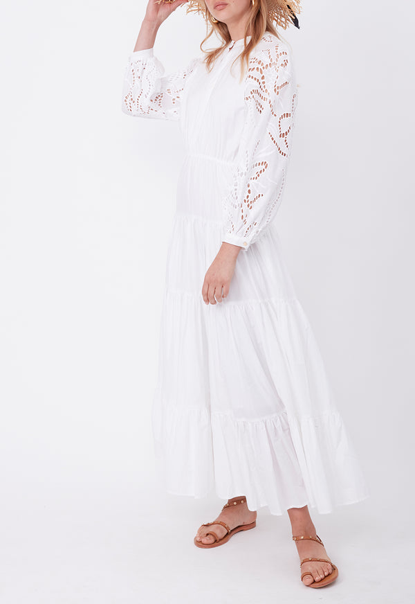 DAY TO NIGHT DRESS WHITE