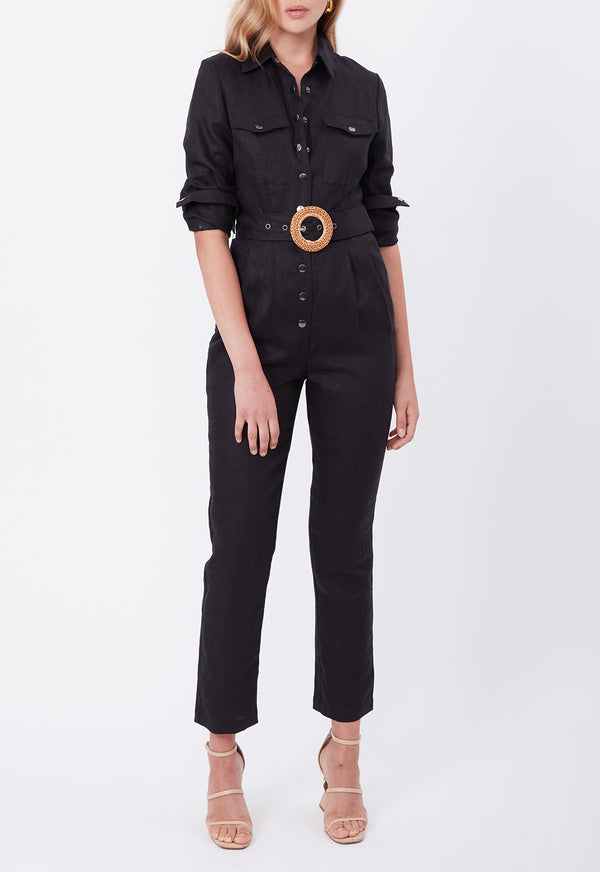 EXPLORER BOILER SUIT BLACK
