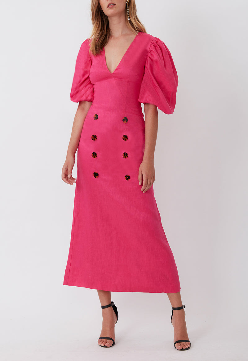 FLOATING ON A CLOUD MAXI FUSCHIA