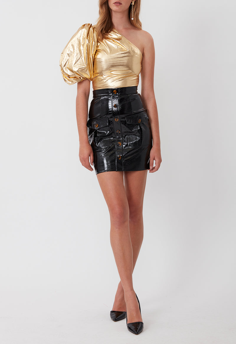 FRIDA BLOUSE GOLD