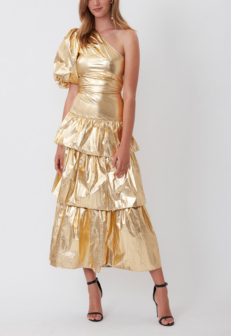 FRIDA SKIRT GOLD