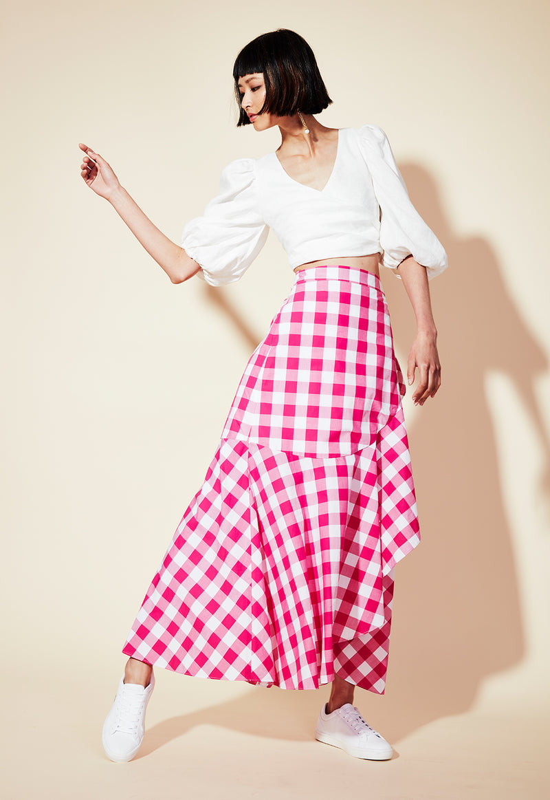 THE WEEKEND WRAP SKIRT