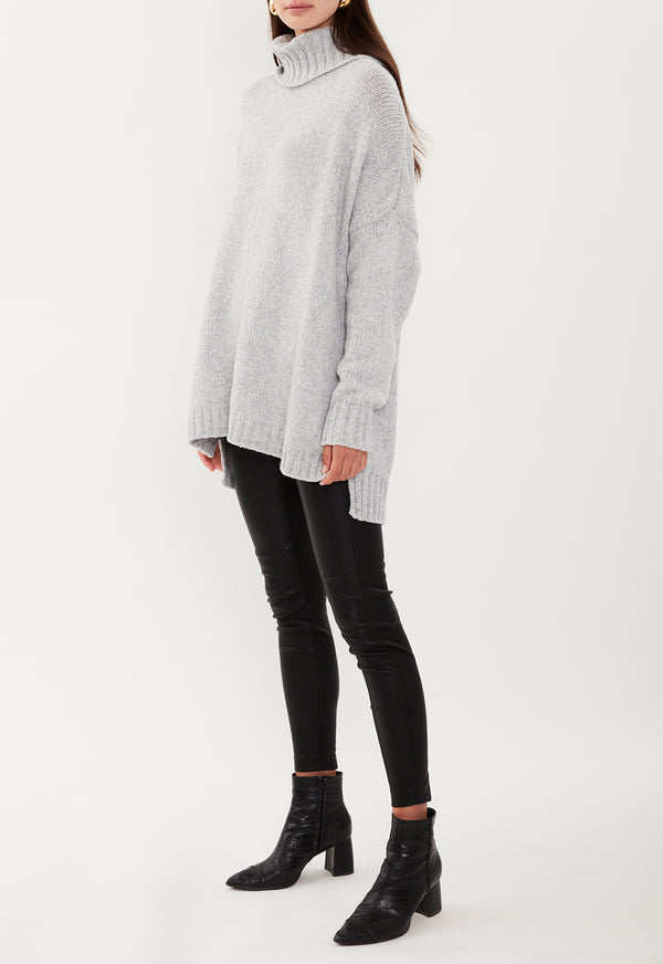 LOUNGE KNIT GREY MARLE