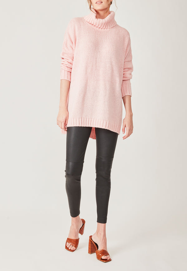 LOUNGE KNIT BABY PINK