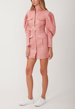 MARCH ON MINI DRESS PINK