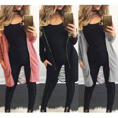 017 Hot Sale Women Fashion Hollow Out Hooded Hoodie Loose Vintage Plus Size Maxi Long Coat Cloak Zipper Outwear Tops