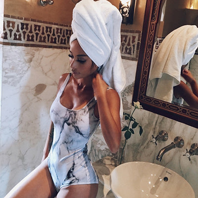 DRESSMECB Sexy Print Jumpsuits For Women 2018 Bodycon V Neck Sleeveless Rompers Womens Jumpsuit Summer Playsuit Free Shipping