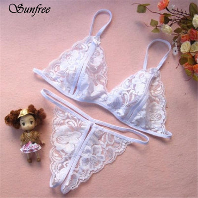 Sunfree 2016 New Hot Sale Women's Sexy Lingerie Lingerie Transparent Open File Lace Sexy Underwear Brand New High Quality Nov 23