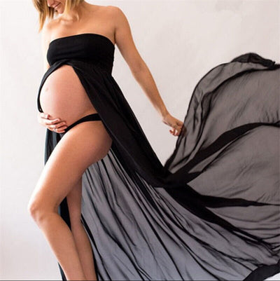 Sexy Summer Women Pregnants Maternity clothes Maternity Dress For Photo shoot Photography Props Dresse Off Shoulders Party Dress