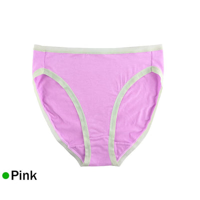 Stretchy Cotton High-Cut Women Briefs Plus Size Underwear Panties Sexy Lady Hipster High Waist Cotton Underpants Breathable 4XL