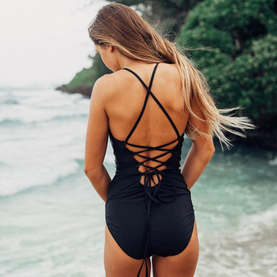 2018 Summer Sexy Women One Piece Back Strap Beachwear Push-Up Padded Bathing Wire Free With Pad Jumpsuit Amazing