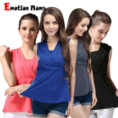 Emotion Moms Summer Maternity breastfeeding Tops nursing clothes pregnancy clothes for pregnant women Vest nursing tank tops