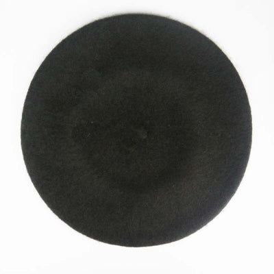 1pc Women Hats Boina Beret Wool Made of Natural Fur Berets Warm Flat Caps Spring and Autumn Warm Hats Bandage for Pregnant Women