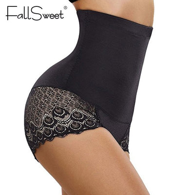 FallSweet Firm Control Panties High Waist Tummy Control Lace  Body Shaper S to 3XL