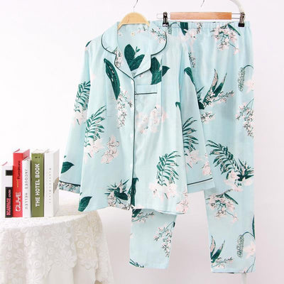 Fdfklak 2018 Spring Autumn New Maternity Sleepwear Nursing Pajamas Breast Feeding Nightwear Cotton Print Pregnant Pijama F349