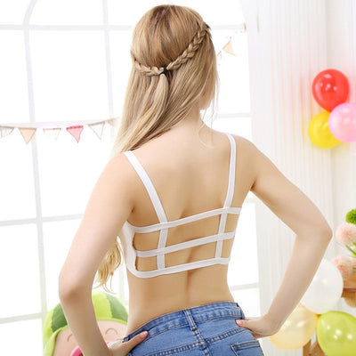 10 Style 2019 New Women Bras Fashion Girls Bralette Crop Top Cotton Lace Unlined Triangle Bralette Sexy Underwear Brassiere