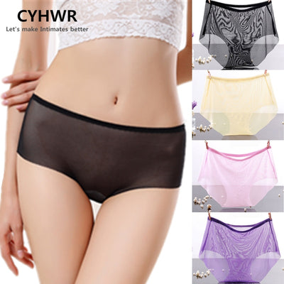 CYHWR New Sexy Lace Women Panties Lady's Underwear Briefs Transparent women underwear 3 pieces/lots