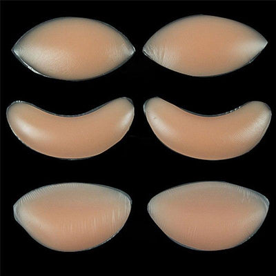 Bikini Swimsuit Push Up Bra Insert Breast Enhancer Inserts Sexy Women Silicone Bra Gel Invisible Inserts Breast Pads for Dress