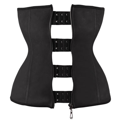 Latex Waist Trainer Corset Body Shaper Shapers Sexy Corsets and Bustiers Waist Cincher Corset Hook Zipper Slimming Shapewear