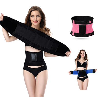 Hot Shapers Women Slimming Body Shaper Waist Belt Girdles Firm Control Waist Trainer Corsets  Shapswear Modeling Strap