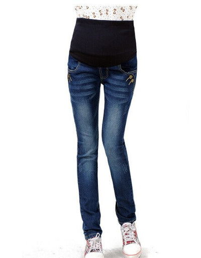 M 3xl Plus Size Maternity Jeans Pants For Pregnant Women Jeans Skinny Everhers