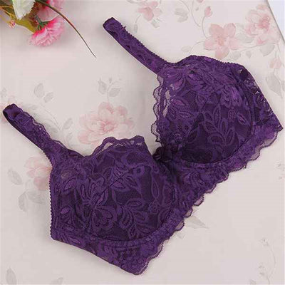 1 Pcs Pregnant Women Sexy Underwire Padded Up Embroidery Lace Bra 32-40B Brassiere Bra Push Up Bras 8 Colors S2