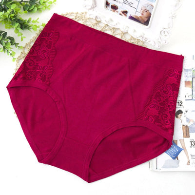 QA82 New arrival hot selling female cotton panties sexy lace lingerie clothes for women underwear plus size