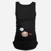 Summer Original Pregnant Women Sleeveless T-shirts Maternity Tees Clothes Nursing Top Vest Pregnancy Long Tee Shirts JK706286