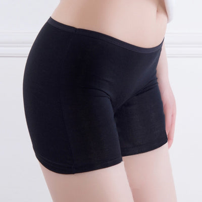 2018 New Women Soft Cotton Seamless Safety Short Pants Hot Sale Summer Under Skirt Shorts Modal Ice Silk Breathable Short Tights