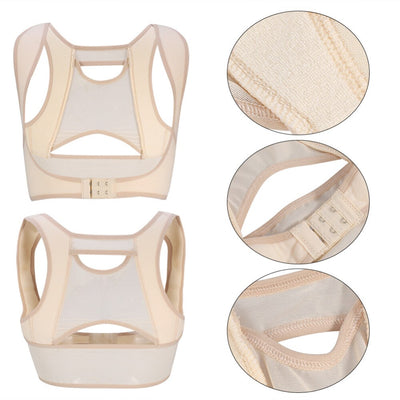 S-XL Size Back Shoulder Posture Correction Band Students Postpartum Women Humpback Relief Corrector Brace Support Body Shaper